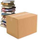 "Book Box (18"" X 12"" X 12"") $2.50"